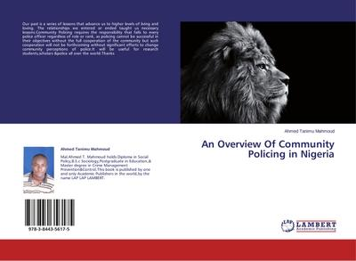 An Overview Of Community Policing in Nigeria