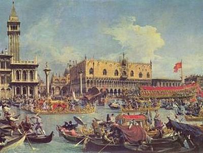 Canaletto (II) - Der Bucentaur vor dem Dogenpalast - 200 Teile (Puzzle)