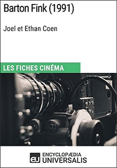 Barton Fink de Joel et Ethan Coen