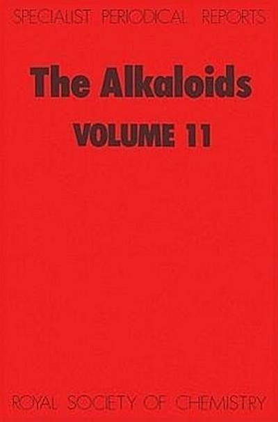 The Alkaloids: Volume 11