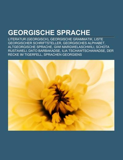 Georgische Sprache