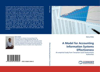 A Model for Accounting Information Systems Effectiveness