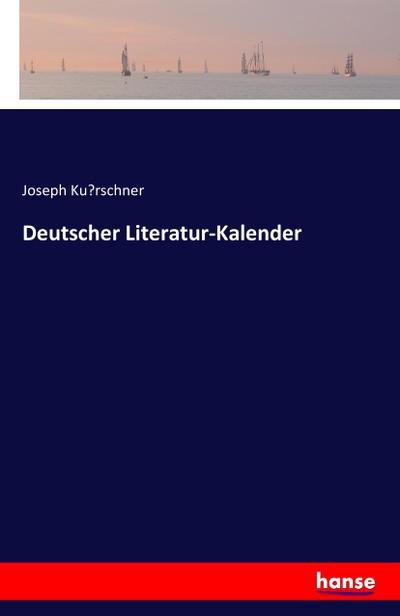 Deutscher Literatur-Kalender