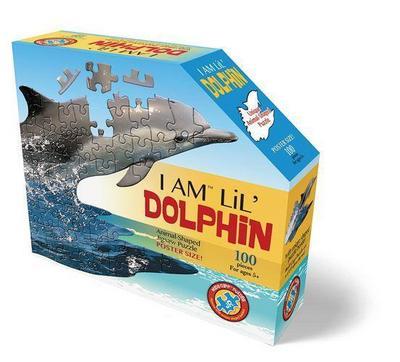 Madd Capp Shape Puzzle Junior Delfin 100 Teile