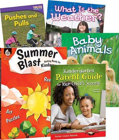 Learn-At-Home: Summer Stem Bundle with Parent Guide Grade K