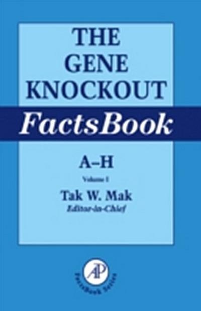 Gene Knockout Factsbook, Two-Volume Set