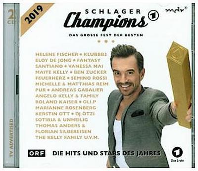 Schlager Champions 2019 - Das große Fest der Besten, 2 Audio-CDs