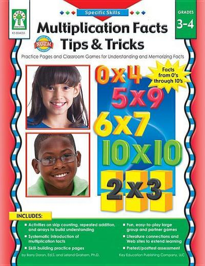 Multiplication Facts Tips and Tricks, Grades 3 - 4