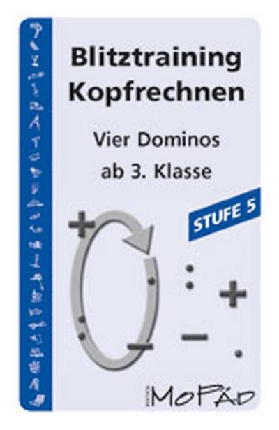 Blitztraining Kopfrechnen - Stufe 5: 3. und 4. Klasse