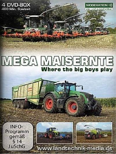MEGA MAISERNTE - Where the big boys play DVD-Box