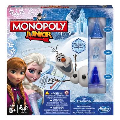 Hasbro Spiele B2247100 - Disney Die Eiskönigin - Monopoly Junior, Familienspiel
