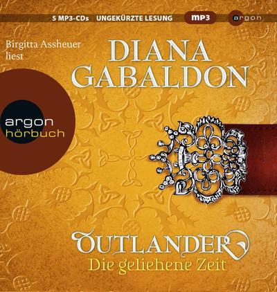 Outlander - gel. Zeit, 5 MP3s