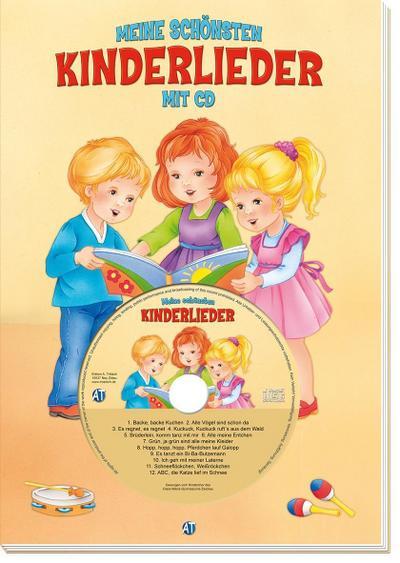 Meine schönsten Kinderlieder: mit CD