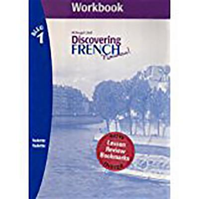 Discovering French, Nouveau!: Workbook with Lesson Review Bookmarks Level 1 [With Review Bookmarks]