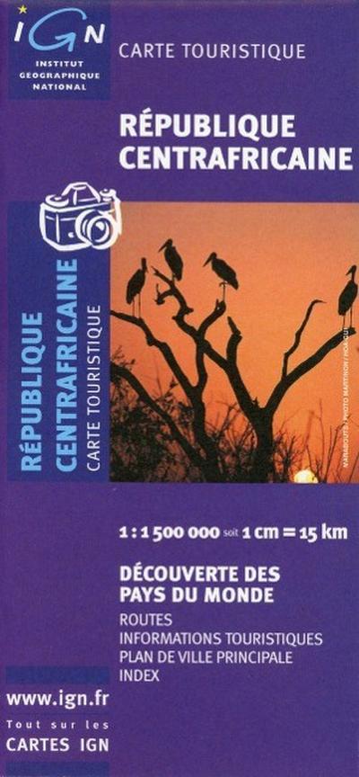 République Centrafricaine 1 : 1 500 000