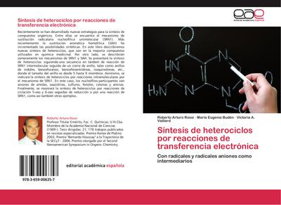 Síntesis de heterociclos por reacciones de transferencia electrónica