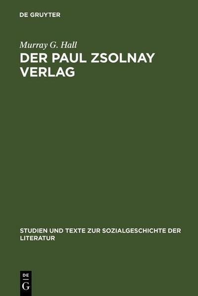 Der Paul Zsolnay Verlag
