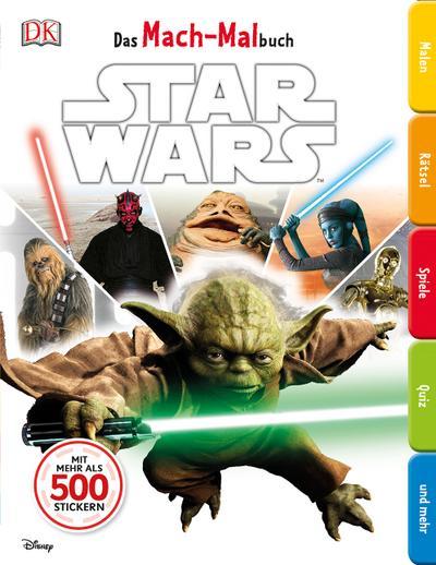 Das Mach-Malbuch. Star Wars™™; Das Mach-Malbuch; Deutsch; durchgehende Farbfotos und Illustrationen; ACHTUNG! Für Kinder unter 3 Jahren nicht geeignet. Erstickungsgefahr durch verschluckbare Kleinteile.