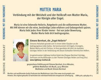 Mutter Maria - Verbindung mit der Marienkraft, Audio-CD