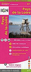 Pays de la Loire 1:250 000