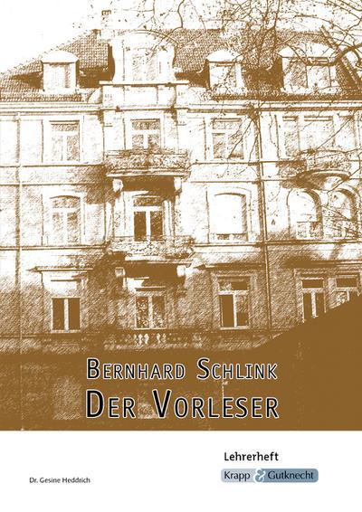 Bernhard Schlink, Der Vorleser