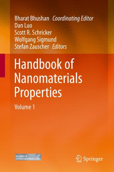 Handbook of Nanomaterials Properties. 2 Bände