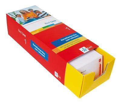 Red Line Klasse 5, Karteikarten-Box zum Lehrwerk