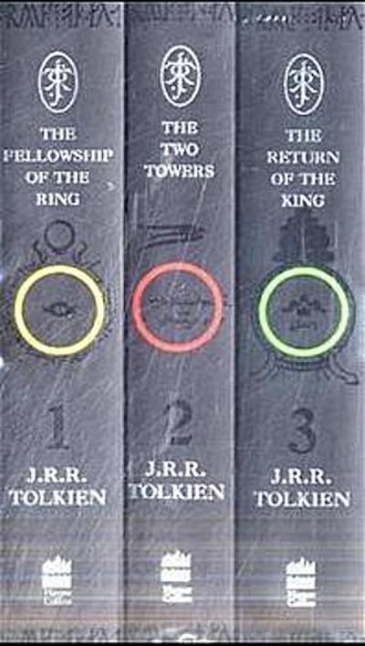 The Lord of the Rings, 3 Vols.