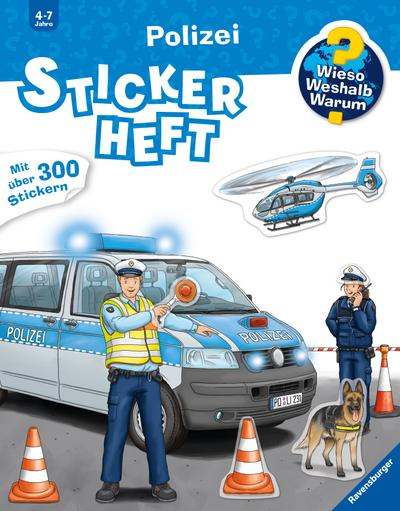Polizei Stickerheft