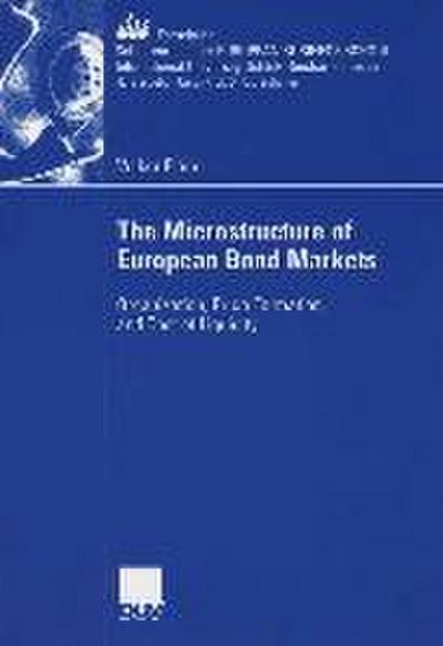 The Microstructure of European Bond Markets