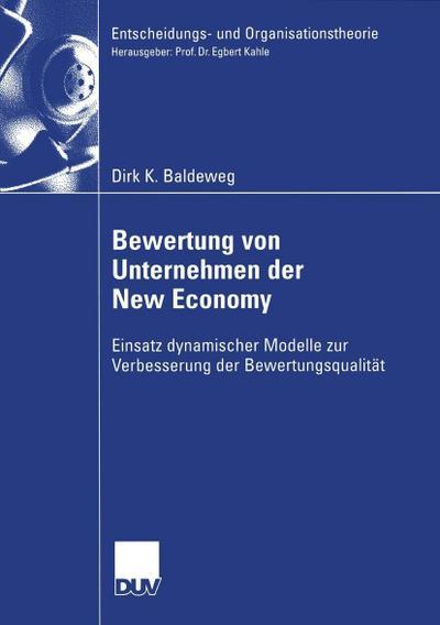 Bewertung von Unternehmen der New Economy