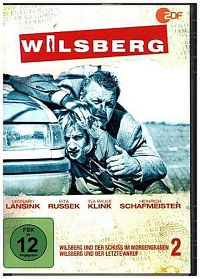 Wilsberg - Wilsberg und der Schuss im Morgengrauen / Wilsberg und der letzte Anruf. Tl.2, 1 DVD