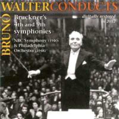 Bruno Walter dirigiert Bruckner,Sinf.4 & 9