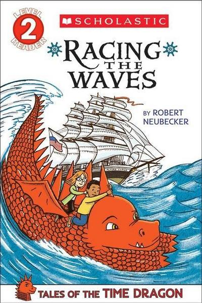 Tales of the Time Dragon #2: Racing the Waves - Library Edition