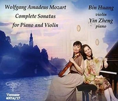 Sämtliche Sonaten für Klavier und Violine