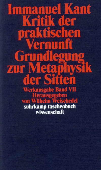 Kritik der praktischen Vernunft, Grundlegung zur Metaphysik der Sitten