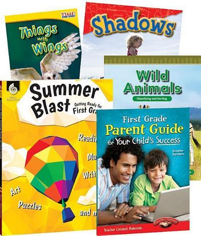 Learn-At-Home: Summer Stem Bundle with Parent Guide Grade 1