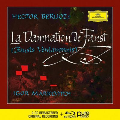 La Damnation de Faust, 2 Audio-CDs + 1 Blu-ray-Audio