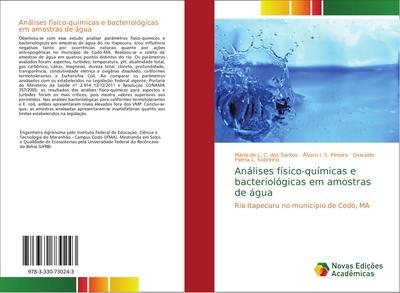 Análises físico-químicas e bacteriológicas em amostras de água