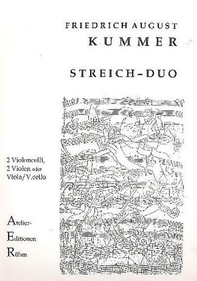 Duo C-Dur op.22,1für 2 Violoncelli (2 Violen, Viola und Violoncello)