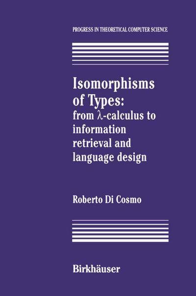 Isomorphisms of Types