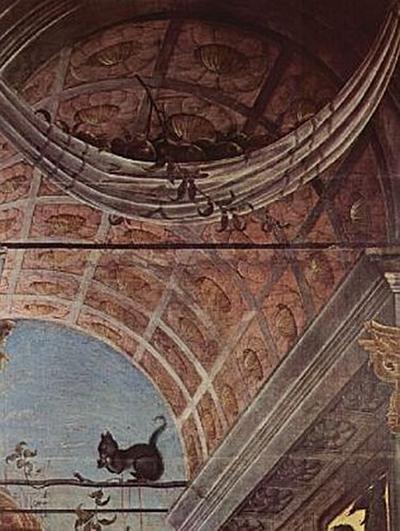 Cosmè Tura - mit Heiligen Georg und dem Drachen und einer Verkündigung, Maria Verkündigung - 500 Teile (Puzzle)