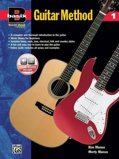 Basix Guitar Method, Bk 1: Book & Enhanced CD