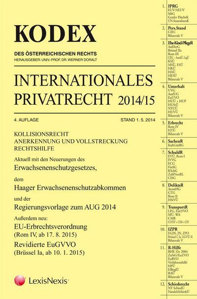 KODEX Internationales Privatrecht 2014/15