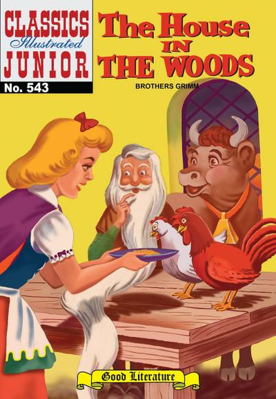 House in the Woods (with panel zoom) - Classics Illustrated Junior