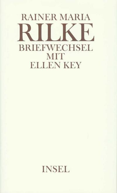 Briefwechsel mit Ellen Key