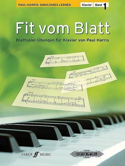 Fit vom Blatt, Klavier. Bd.1