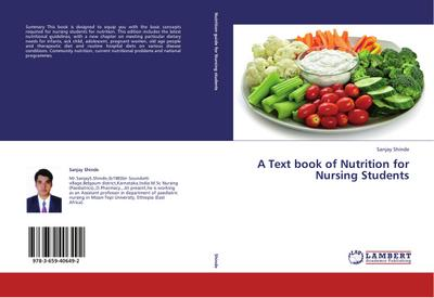 A Text book of Nutrition for Nursing Students