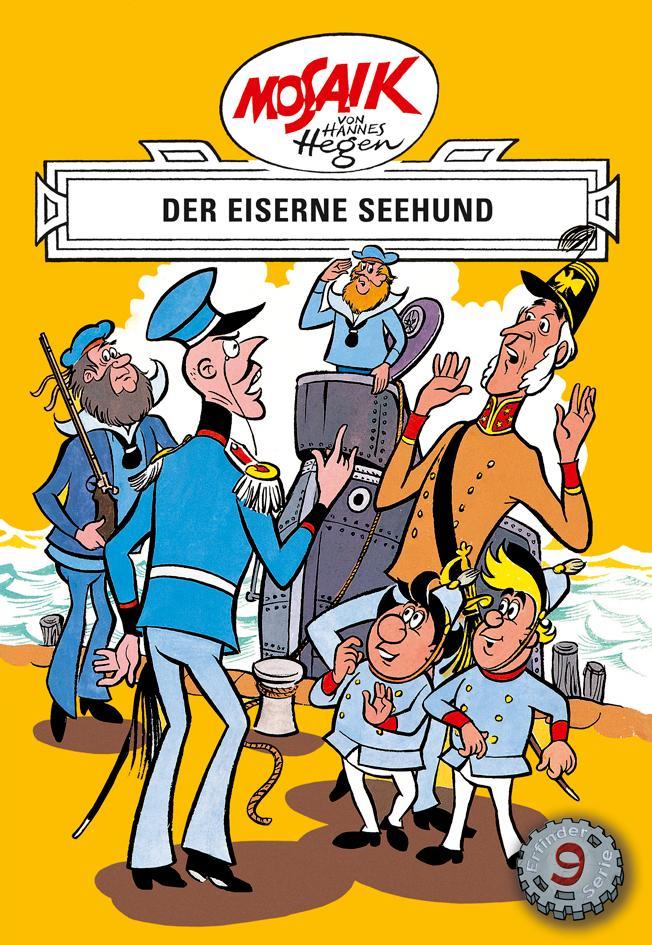 Der eiserne Seehund Hannes Hegen 9783730220092