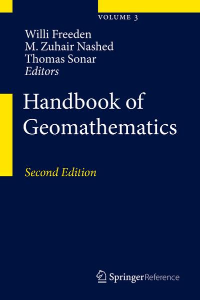 Handbook of Geomathematics, 3 Pts.